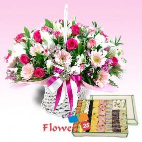 핑크홀리데이 + 궁중떡선물세트