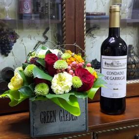 2016 꽃바구니 & 와인